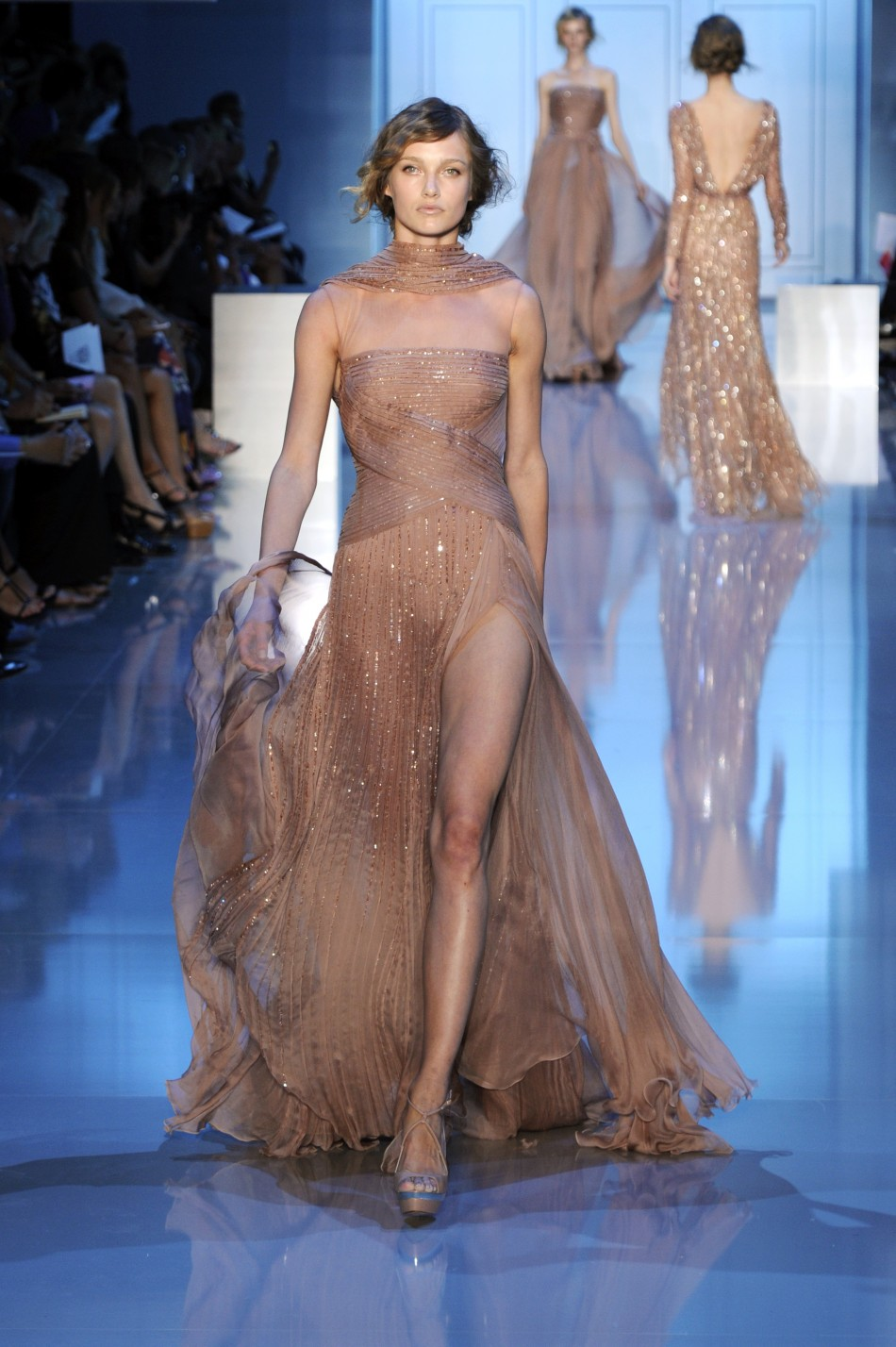 Paris haute couture week final day elie saab for Haute couture list