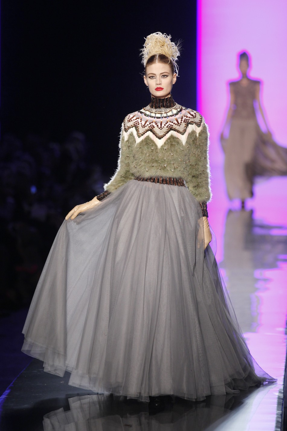 Paris haute couture week final day jean paul gaultier for French haute couture