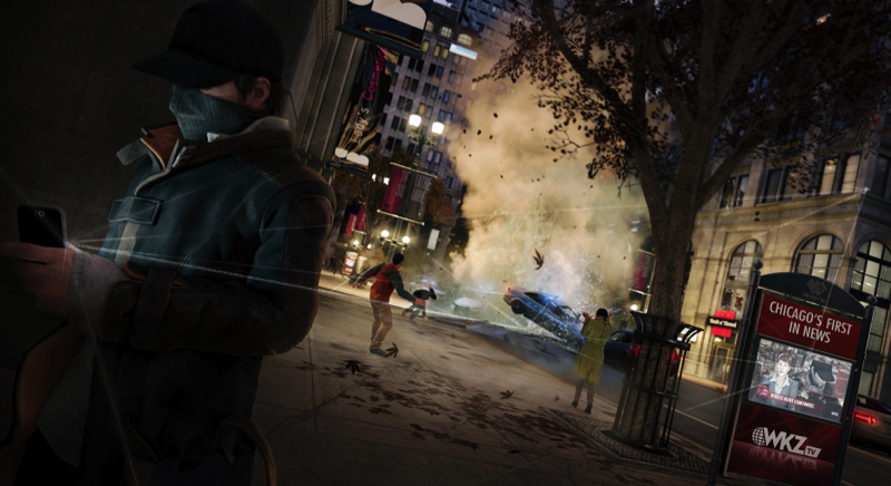 Watch Dogs Xbox One Screens
