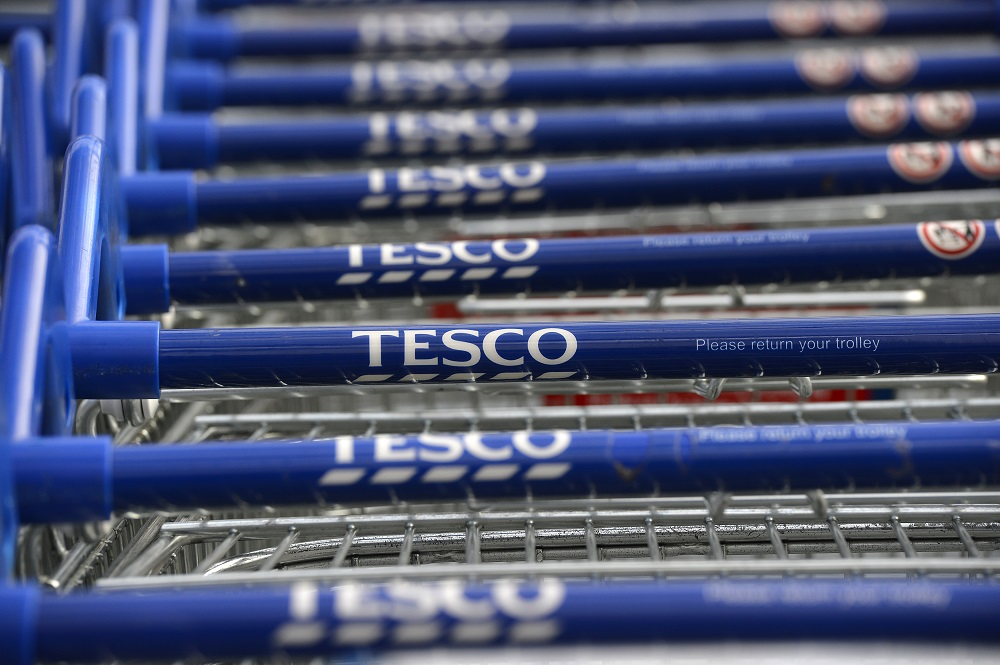 Shopper Buys £600 Tesco Christmas Shop with Coupons