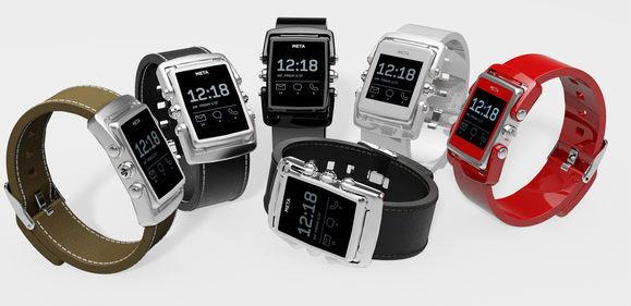 MetaWatch Meta smartwatch