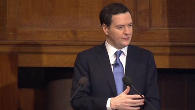 Osborne Says EU Treaties Not Fit For Purpose