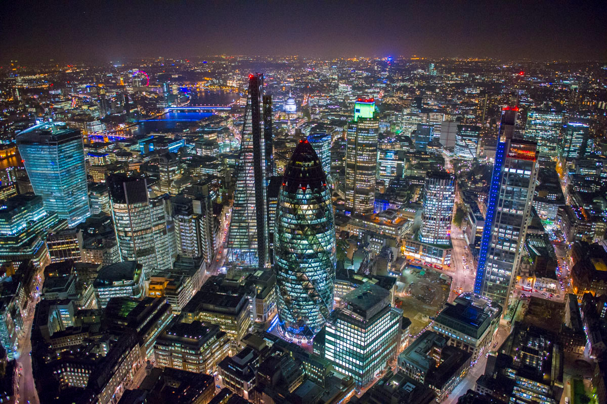 London from the Air: Stunning Aerial Photos by Jason Hawkes