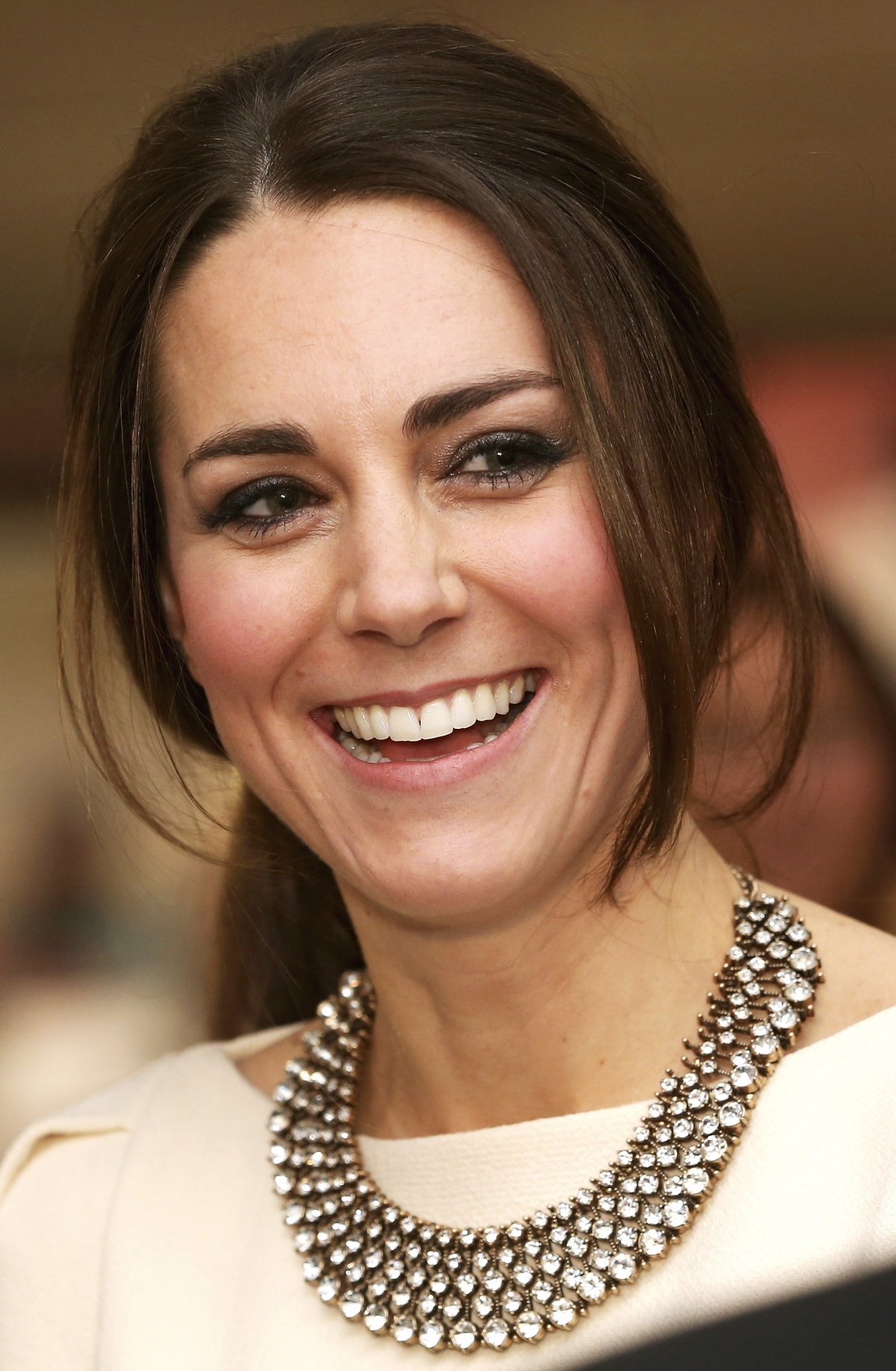 "Catherine, the Duchess of Cambridge at the Royal Premiere of ""Mandela: Long Walk to Freedom"" in London"