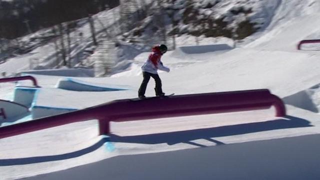 Parrot tops men s snowboarding slopestyle qualification