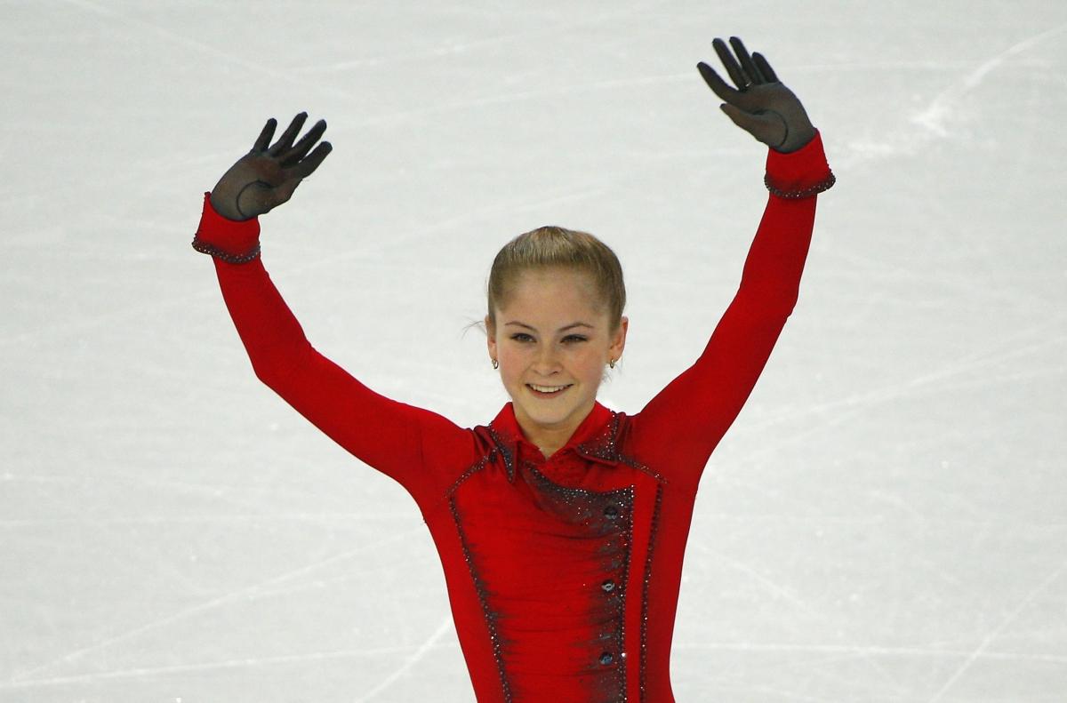 Yulia Lipnitskaya Gold Medal 15-Year-Old Julia Lipn...