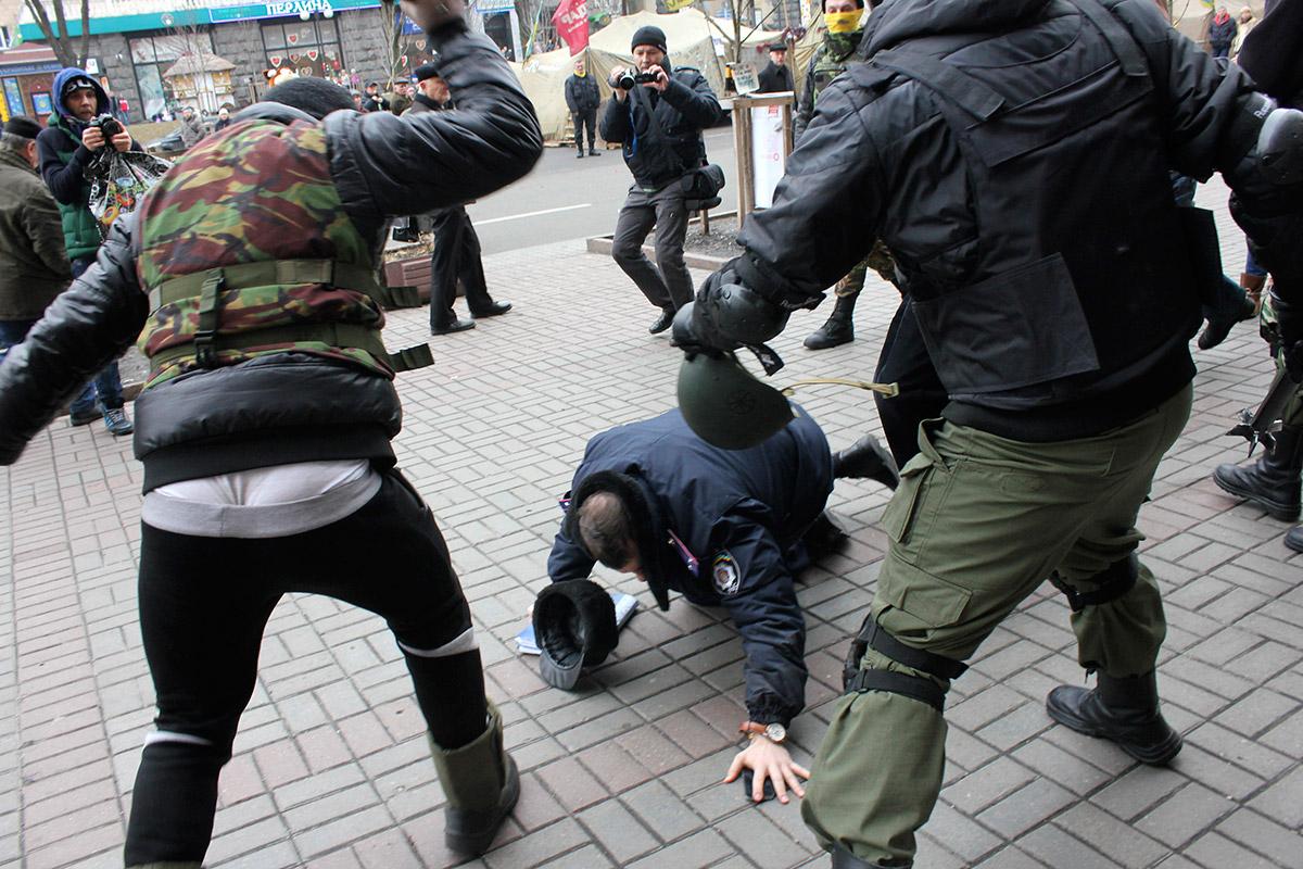 Уничтожение киевской полиции.