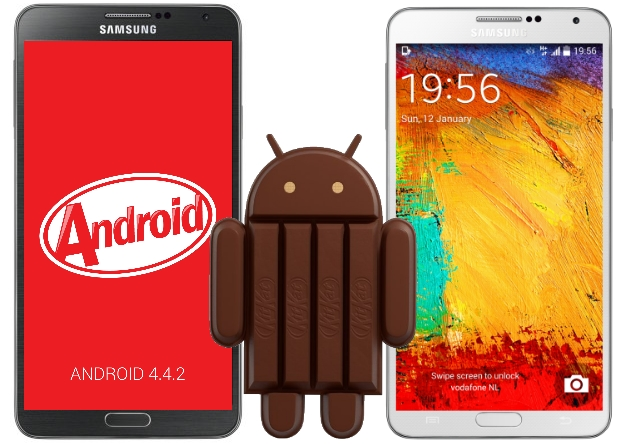 Android 4.4.2 Kit Kat on Note 3