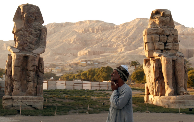 Ancient Egypt: Missing Parts of Colossi of Memnon Found at Amenhotep III Temple