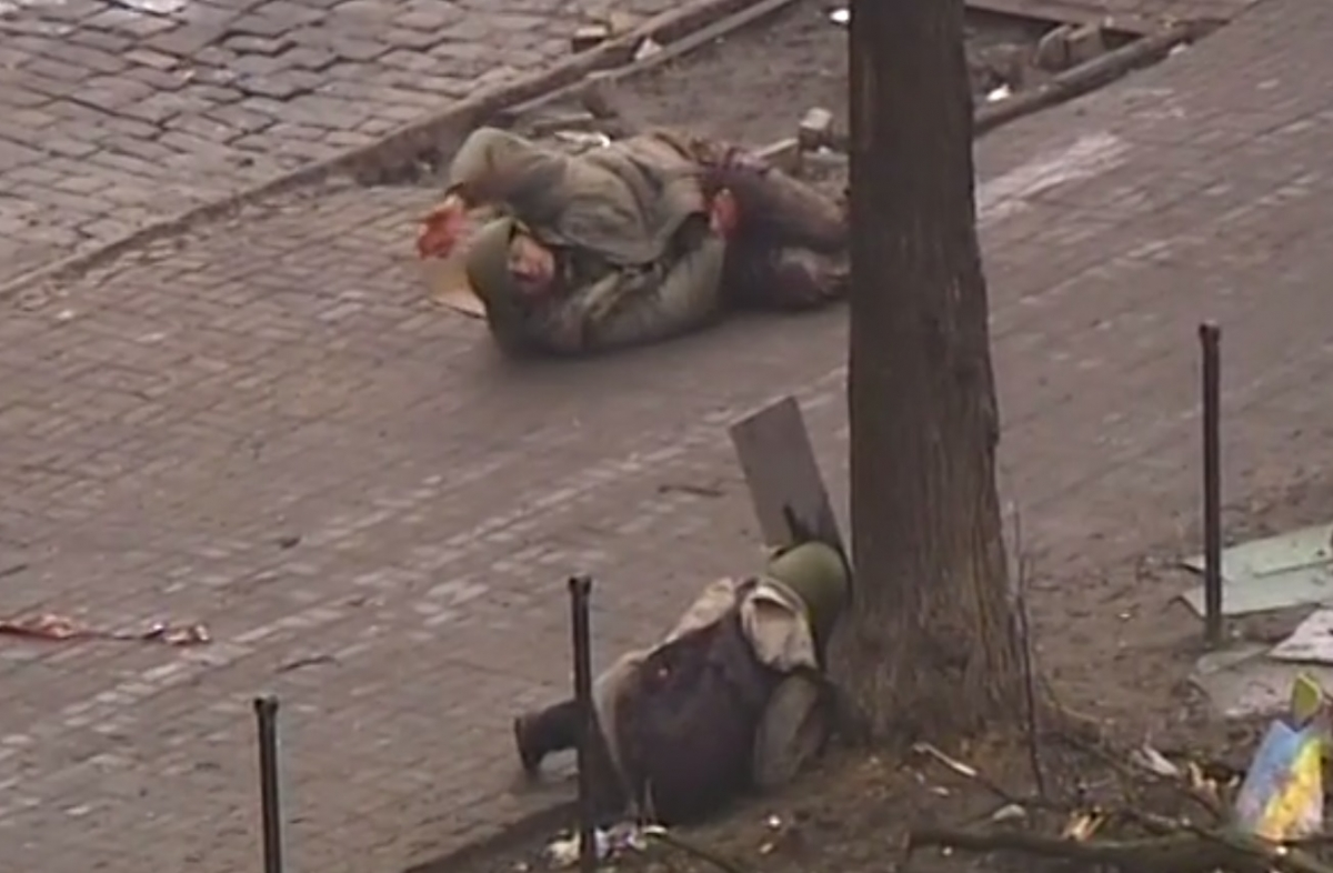 Sniper Fire in Kiev