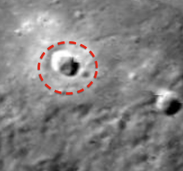 ufo alert structures in mercury nasa photos evidence of