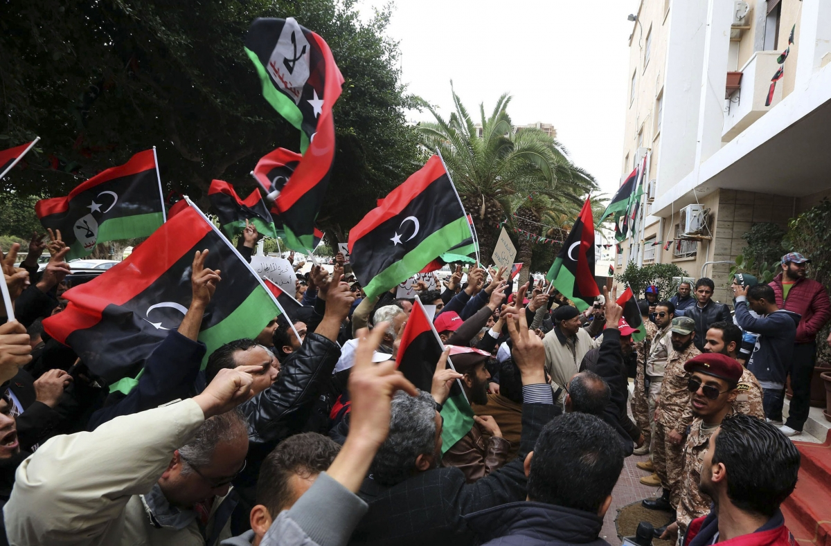 Libya has cancelled major infrastructure projects to save money