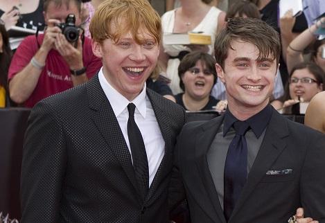 Daniel Radcliffe And Rupert Grint Harry Potter St...