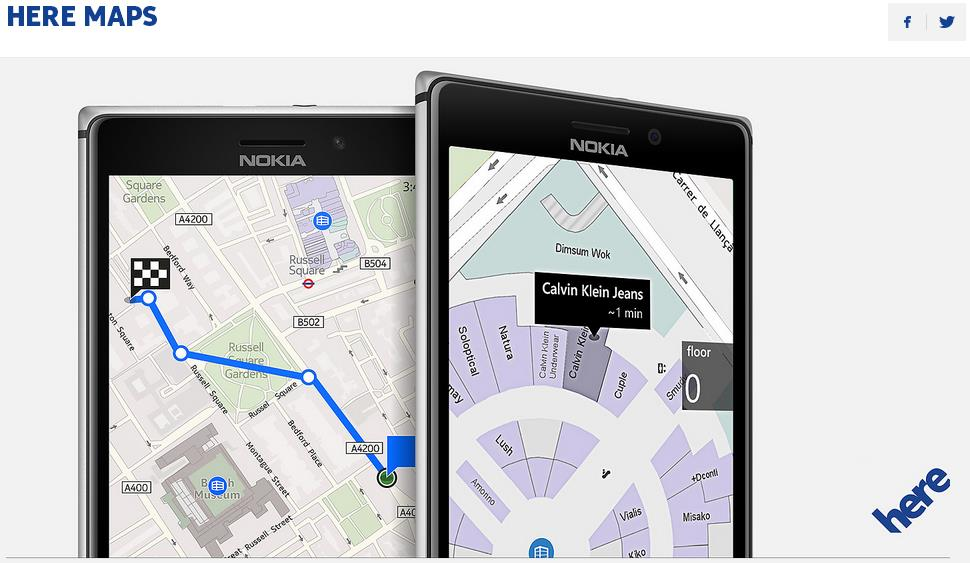 Nokia Here Maps Updated to Support Android L Lollipop: How ...