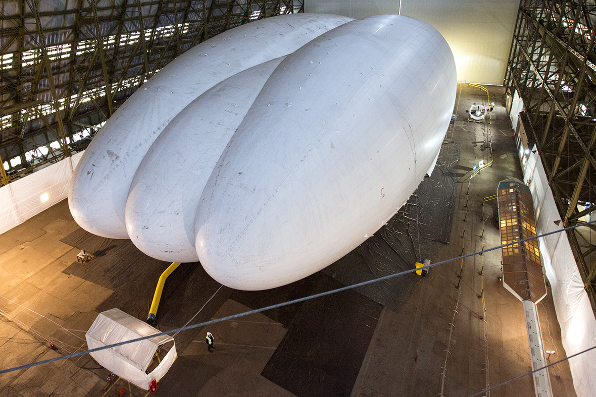 The Airlander is 300ft (91m) long, 113ft (34m) wide and 85ft (26m) high