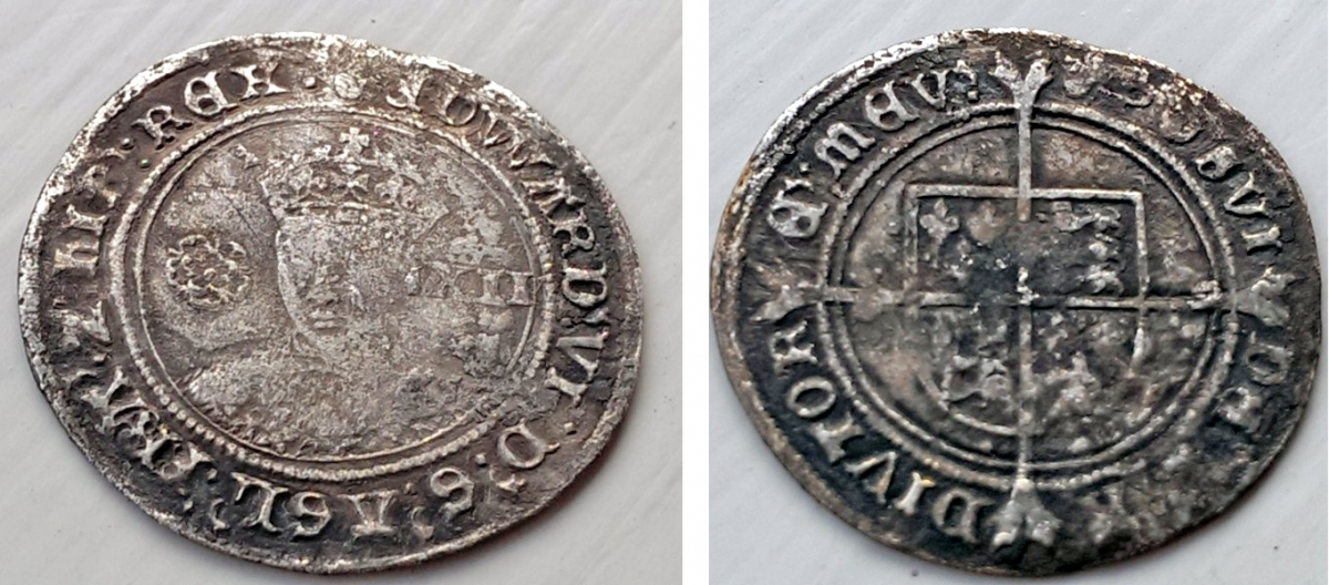 435-year-old shilling found on Vancouver Island could prove Sir Francis Drake got to Canada before the Spanish