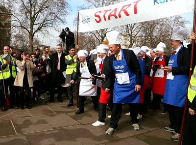 Parliamentary Pancake Race Highlights