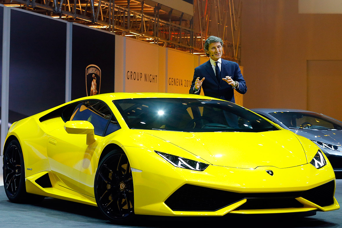 lamborghini to speed into accelerating suv market by 2018. Black Bedroom Furniture Sets. Home Design Ideas