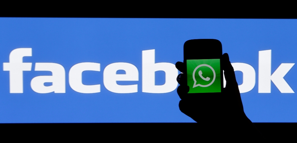 Facebook WhatsApp Logos