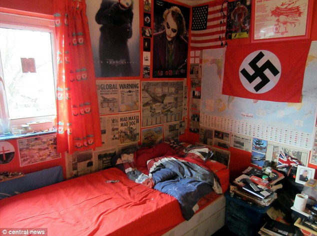 Michael Piggin Terrorism Trial Inside The Bedroom Of A