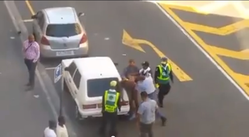 South Africa Police Beating Video Cape Town
