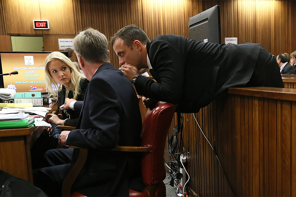 Oscar Pistorius Hot besides Pistorius Sell Luxury Mansion House Killed Girlfriend Reeva Steenk  Raise Money Legal Bills further Reeva Steenk  Dead Body Photos Public in addition Pistorius Court Lawyers One Final Chance Convince Judge Innocence moreover Godzilla Platypus Fossil Unearthed Australia 2677876. on oscar pistorius lawyer