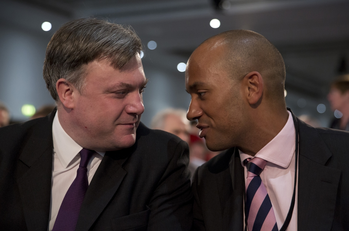 Ed Balls and Chuka Umunna