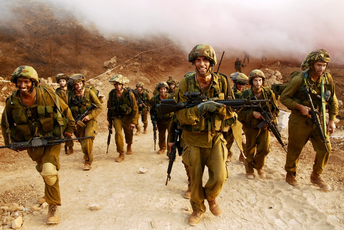 Israel Palestine IDF Army West Bank Settlements