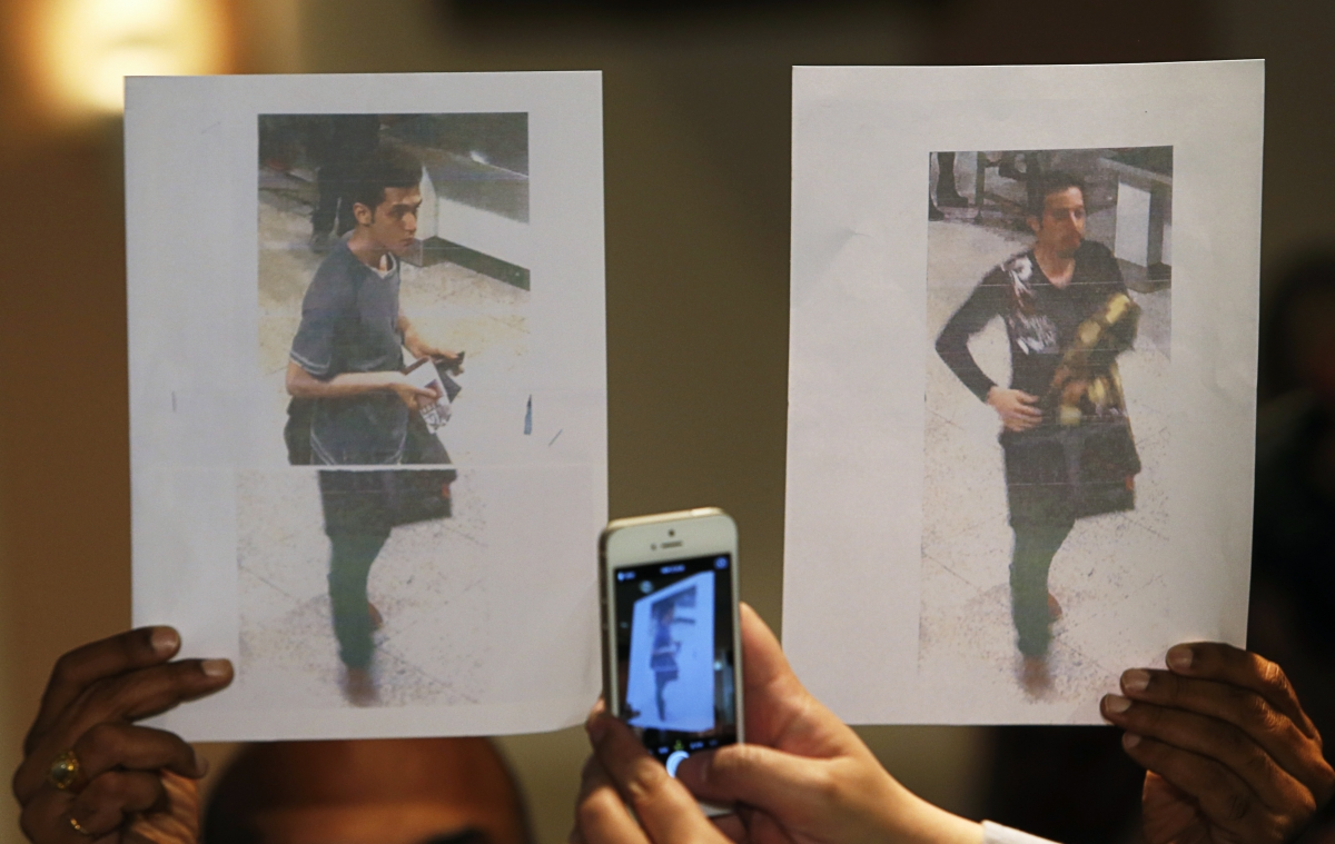 Missing Malaysia Airlines MH370 stolen passport suspects