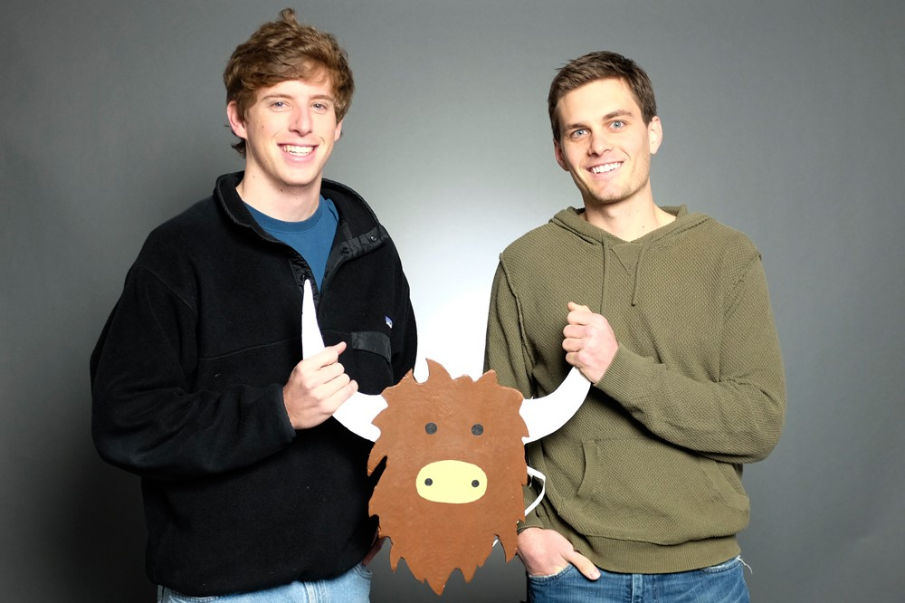 Yik Yak creators Brooks Buffington and Tyler Droll
