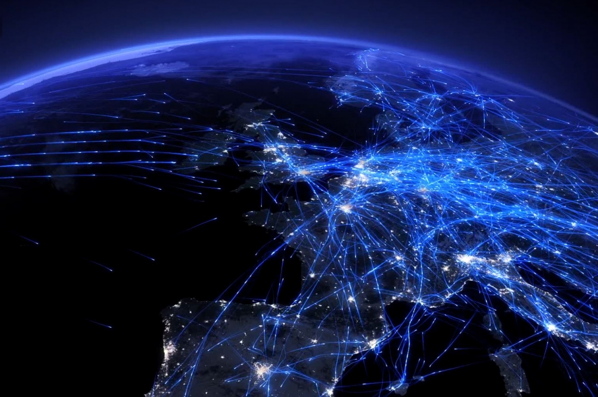Incredible Air Traffic Video Shows All Flights Made in One Day
