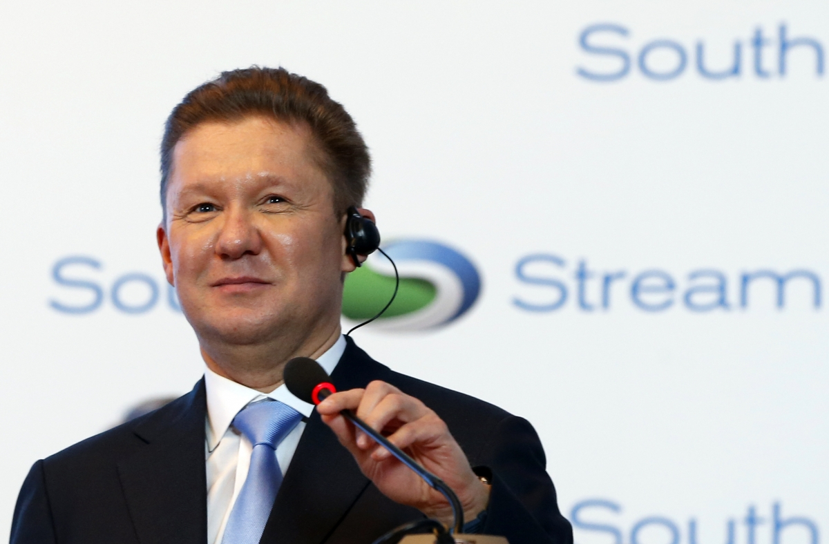 Gazprom Chief Executive Alexei Miller