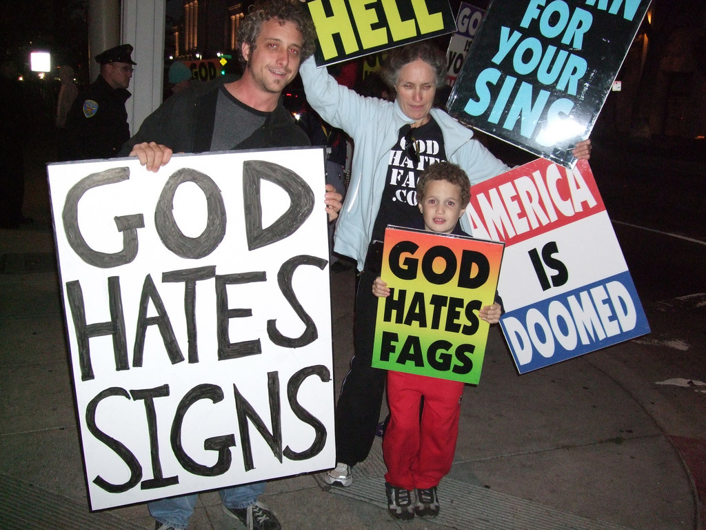 God Hates Fags, Flags, Figs and Bags: The Funniest Westboro Baptist ...: www.ibtimes.co.uk/god-hates-fags-flags-figs-bags-funniest-westboro...