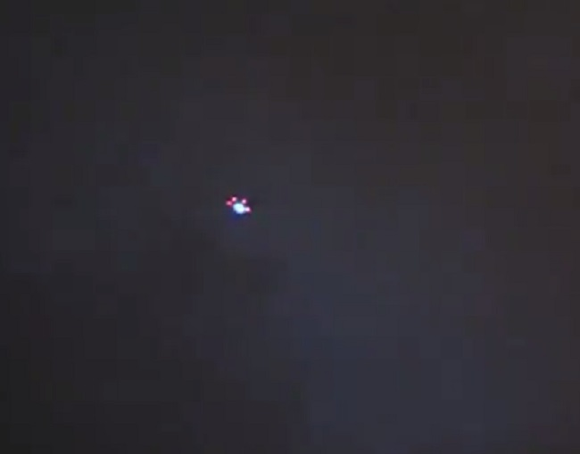 UFO spotted on Australia's Goldcoast