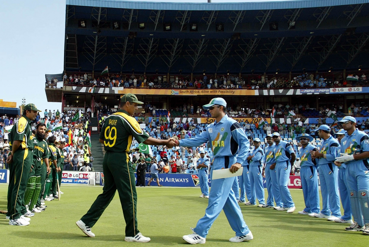 India v pakistan 2003 cricket world cup south africa 1 march 2003