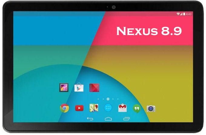Google Nexus 8.9: High-performance Tablet Expected in June