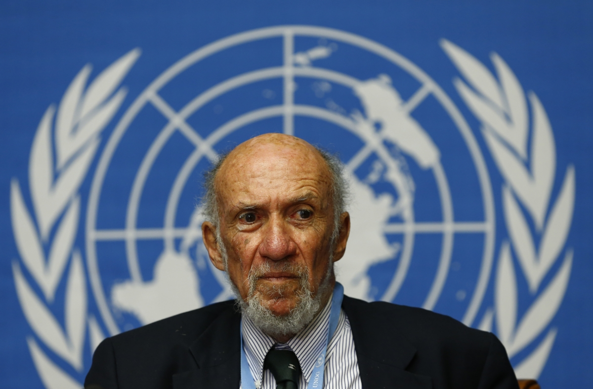 UN Human Rights Investigator Richard Falk Israel Ethnic Cleansing and Apartheid Policies Palestine