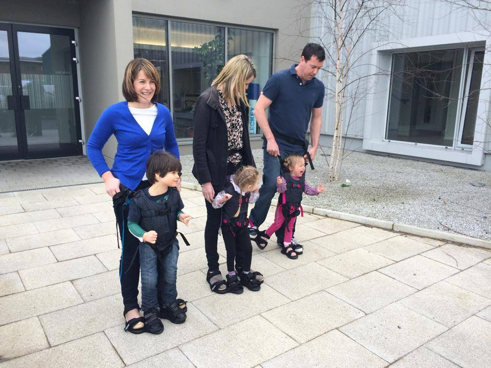 The Firefly Upsee: a harness that lets parents teach children with motor disabilities to walk