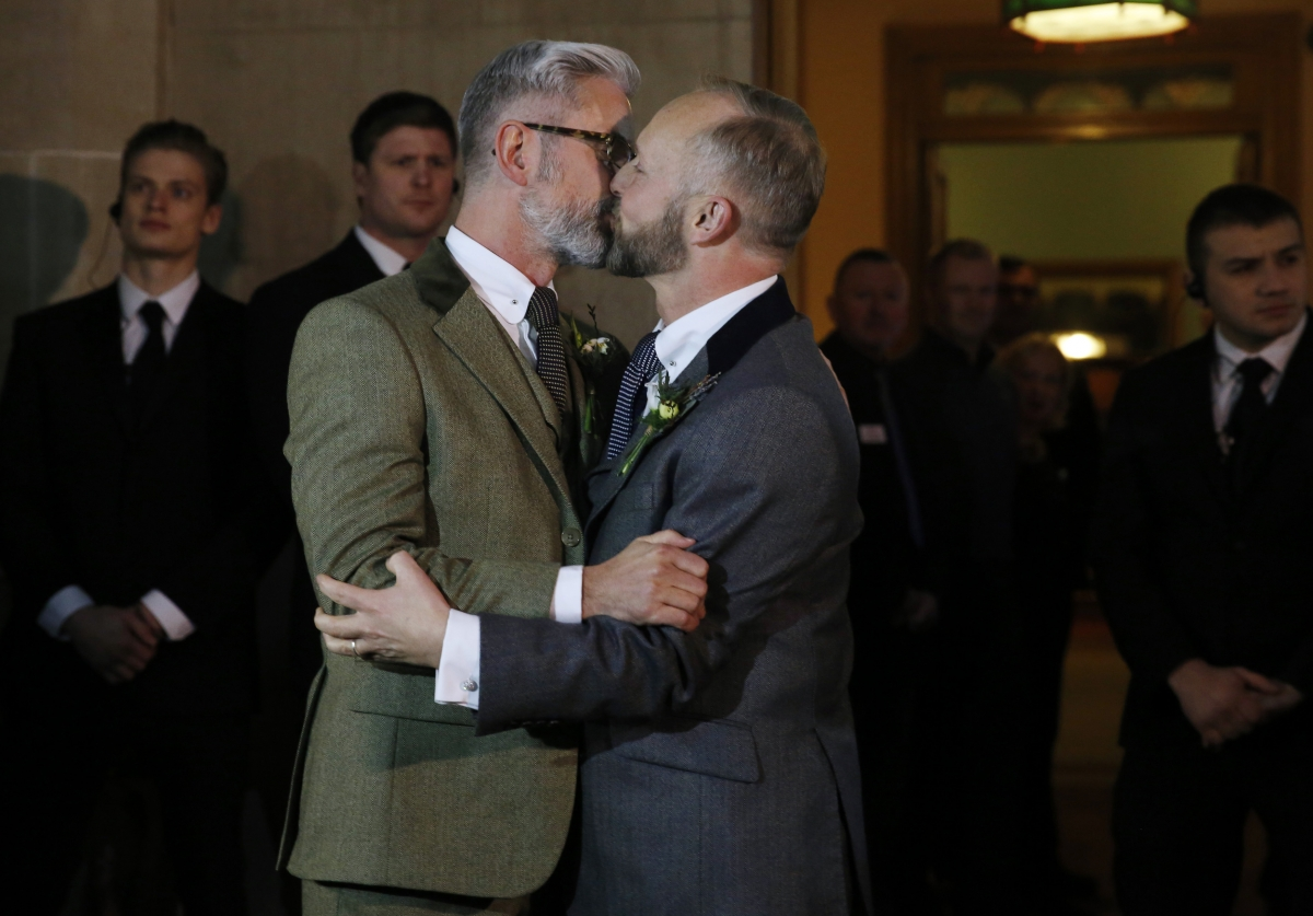 Same sex marriage in uk