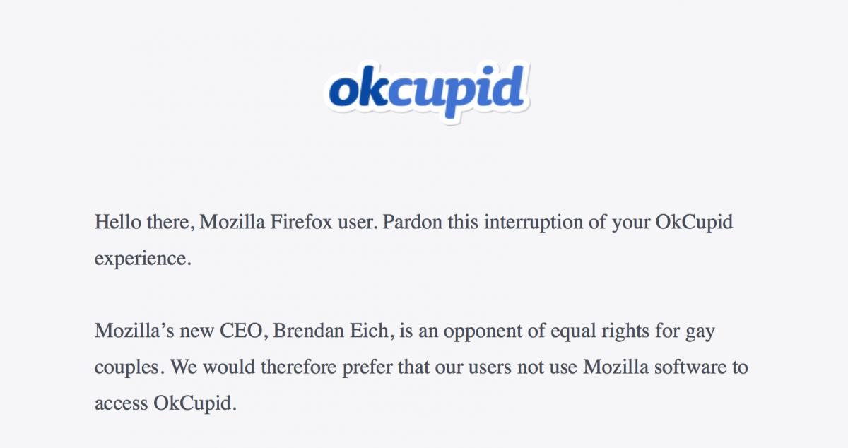 okcupid block messages