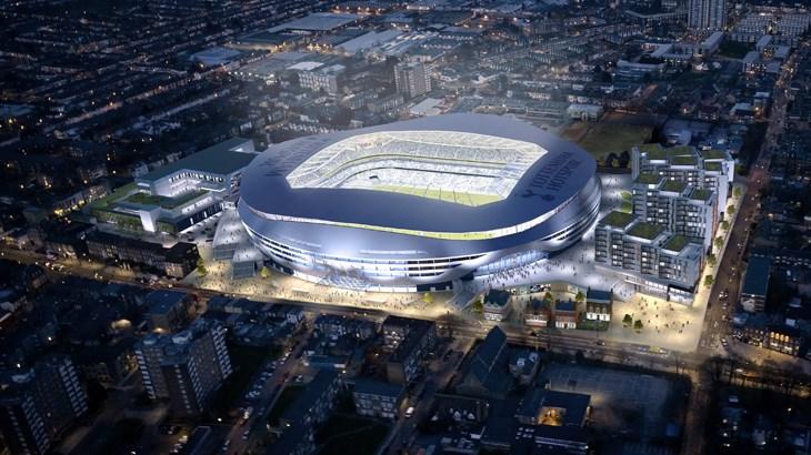 Daniel Levy Unveils Tottenham Hotspur Stadium Plans