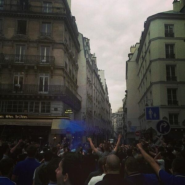 Psg Retain Champions League Favouritism Ahead Of: Chelsea Hooligans Rampaged Through Paris Ahead Of PSG