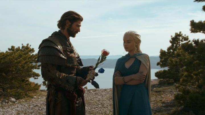 Game of Thrones Season 4 Spoiler for Episode 2 The Lion ... Daario Naharis And Daenerys Season 4