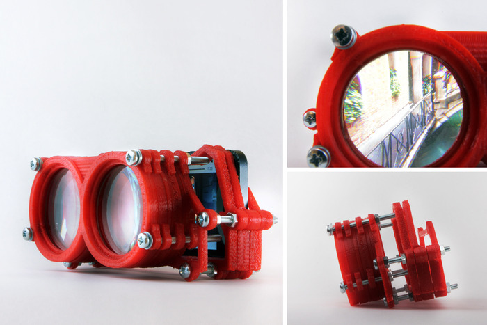 Rift  How About 3D-Printed Virtual Reality Goggles for SmartphonesVirtual Reality Goggles 2014