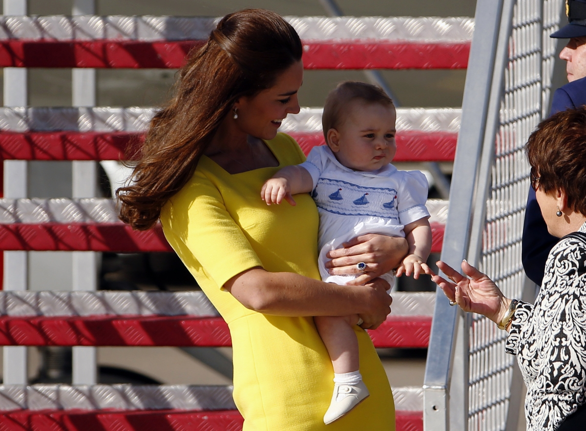 Kate Middleton Honours Australia in Yellow Dress
