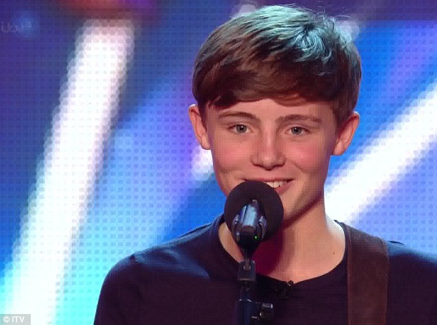 "Dixon described teenage singer James Smith as "" a pop star in the making.""ITV - james-smith"