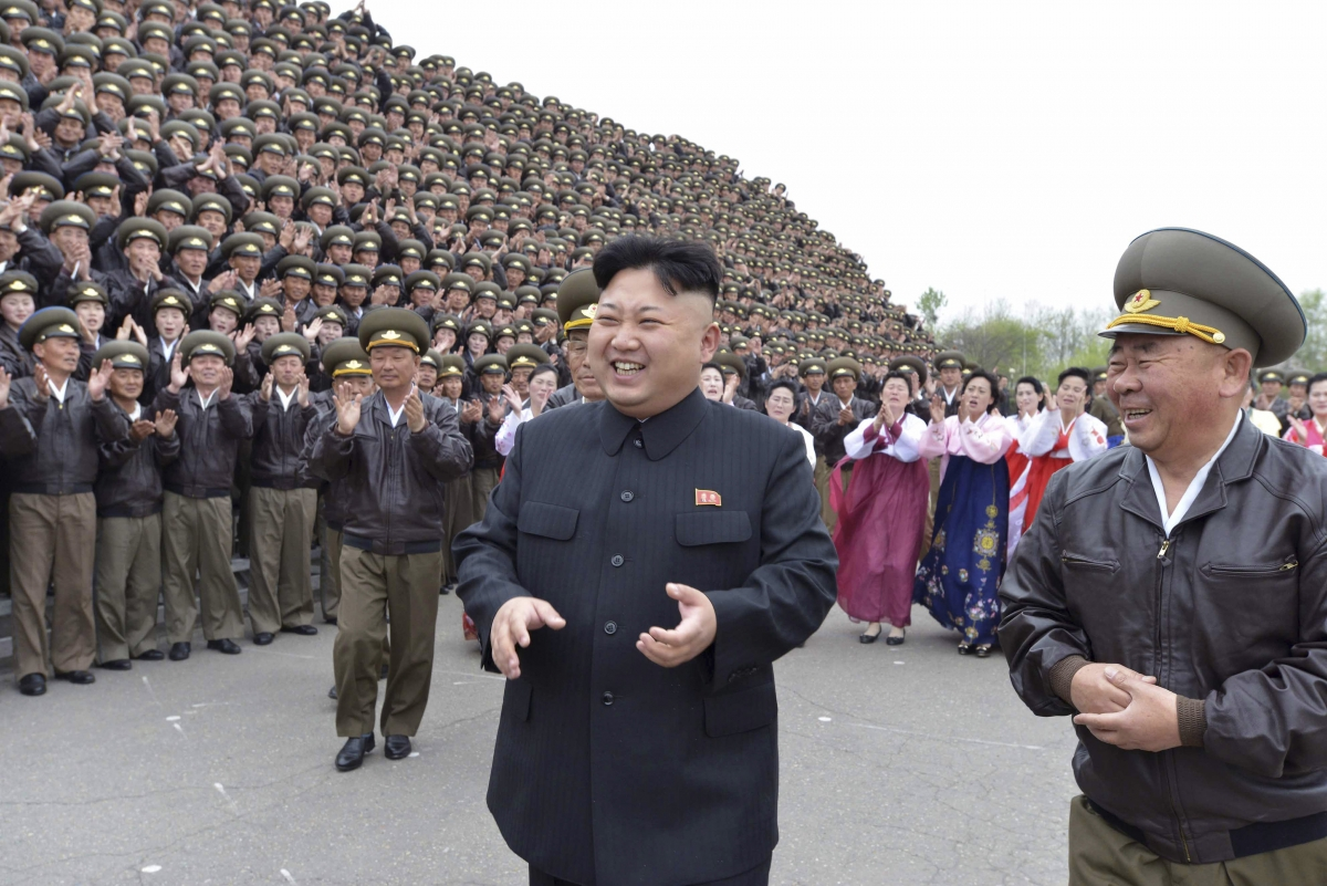 North Korean leader Kim Jong-Un Nuclear Test