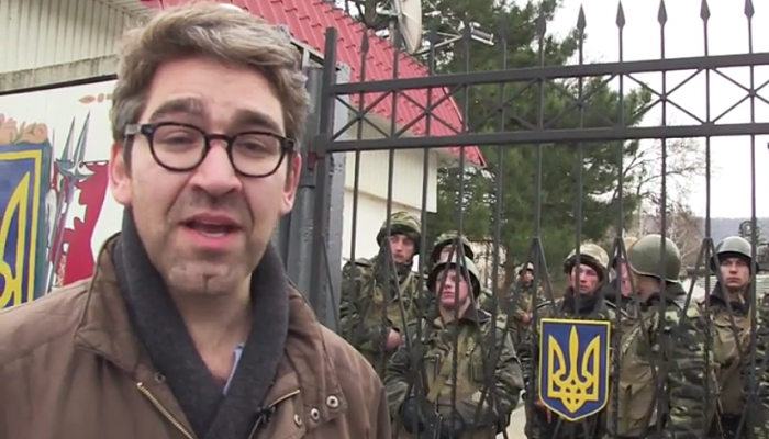 US Journalist Held by East Ukraine Militants