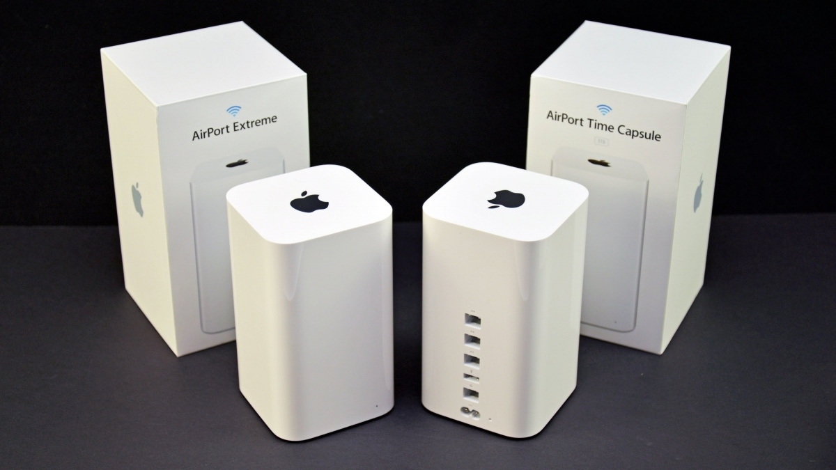 where your problems with apple airport extreme router the