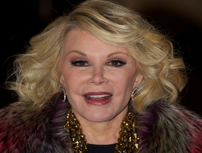 Lawyers have demanded Joan Rivers apologise for crass remark